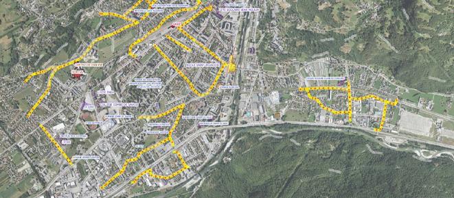 Découvrez le nouveau plan de circulation d'Albertville